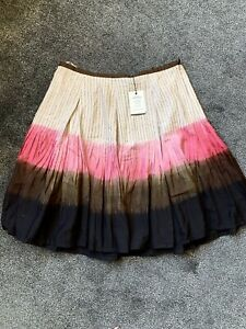 Easton Pearson Hand Dyed Flared Skirt M
