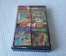 MSX Game - 4x1 - Camelot, Abu Simbel, Cobras, Phantomas II