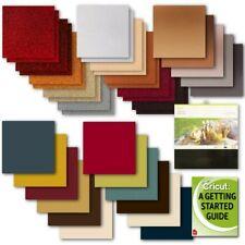 Cricut Kraft Board, Adhesive Foil, Premium Vinyl, Shimmer/Sparkle Paper Bundle