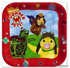 WONDER PETS Party Supplies PLATES Cake Birthday Decoration Turtle x8 Ducky Kids