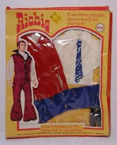 Vintage 1971 Mego Richie Clothes Mod Outfit #2532 Fantastic Fringe Original Box