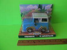 "The Chevron Cars Frankie the 4-Wheeler 6""in Long  Light Blue & Muddy w/Roll Bar"