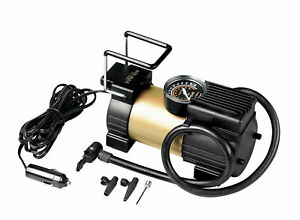 Air-Max Compressor 12V With Manometer For Tyres Great Dimension
