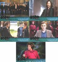 Harry Potter Order of Phoenix Silver Foil Promo Card Set 5 Cards