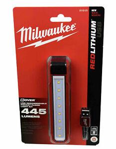 Milwaukee 2112-21 USB Rechargeable ROVER Pocket Flood Light New