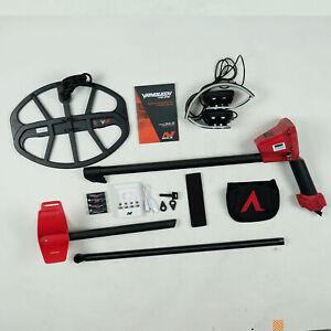 "Minelab VANQUISH 540 Metal Detector with V12 12"" x 9"" Waterproof DD Coil"