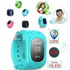GPS Smart Kids Children's Watch Sos Call Location Finder Child Locator Tracker