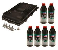 BMW Auto Transmission Service Kit OEM ZF (Oil Pan+Filter+Gasket+Bolts) + 6L ATF