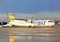 TAT Atr-72 (F-GKOB) Paris Only  Airplane Postcard