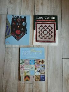 Lot of 3 Quilt Books