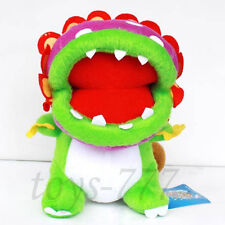 "Super Mario Bros Petey Piranha 8"" Stuffed Animal Nintendo Cartoon Plush soft Toy"