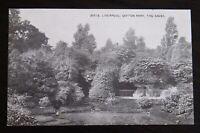 Vintage Grano 30518 B/W Postcard - LIVERPOOL Sefton Park The Caves - VGC
