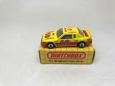 MATCHBOX-#MB10-BUICK LE SABRE-E MARSHALL-SHELL YELLOW--WITH BOX--LOOK---