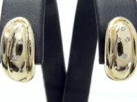 Ohrringe earrings 585 GOLD 14 Karat boucle d'oreille or Brillanten Diamanten oro