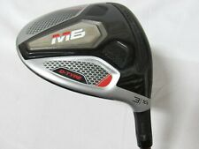 Used RH TaylorMade M6 D-Type 16° 3 Fwy Wood Even Flow 50 Graphite Stiff S Flex