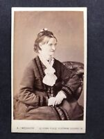 Victorian Carte De Visite CDV: Lady: Melhuish: London