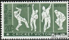 India 534 (complete.issue.) unmounted mint / never hinged 1971 Cricket