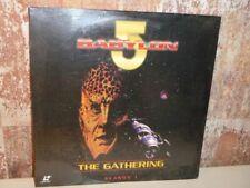 BABYLON 5 Season 1 The Gathering - LASERDISC neu OVP