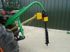 Tractor Mounted Post Hole Borer, 6 Inch, Auger, Drill £625 inc VAT and Delivery