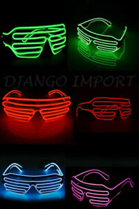 Spider-Man LED Flashing Light Up Glasses Slotted Shutter Shades New Design FO UK