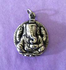 Ganesh Metal Charm Tibetan Nepalese Hindu
