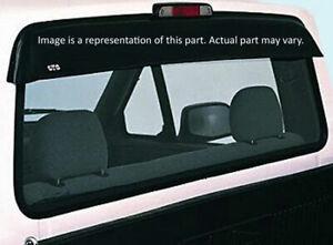 Fits 87-93 Nissan D21 Hardbody GTS Shadeblade Smoke Rear Window Deflector 57151