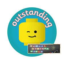 Teacher Reward Stickers 48 not personalised 30mm School Merit Praise Well Done