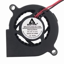50mm Mini Blower Fan DC 12V 2Pin Brushless IDE Cooling Fan 5cm 50x50x20mm
