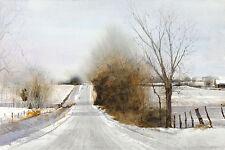 """""""Snow Hills"""" Dean Mitchell Fine Art 21"""" Giclee Print"""