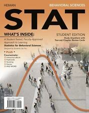 Engaging 4LTR Press Titles in Psychology: Behavioral Sciences STAT by Gary Heima