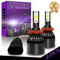 Protekz LED Headlight Bulbs Kit 9005 for 2011-2016 Mitsubishi OUTLAND High Beam