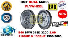 Per E46 BMW 318D 320D 2.0D 116BHP 136BHP 1998-2003 Nuovo Dmf Volano a Doppia
