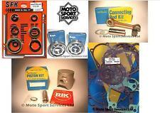 Suzuki RM 250 2001 Mitaka Engine Rebuild Kit Rod Piston C Mains Gasket & Seal