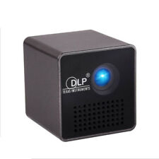 Protable Mini Pico Projector Pocket Size Wireless Home Cinema DLP LED 4.5cm Cube