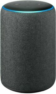 Echo Smart Speaker with Alexa, 3rd Generation, Charcoal - Quantity 1