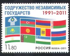 Russia 2011 National Flags/Commonwealth/Politics 1v (n33768)