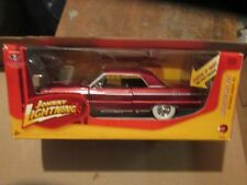 1964 64 chevrolet impala chevy Johnny white tires Lightning muscle cars J L 1/24