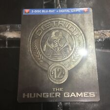 The Hunger Games District 12 Blu-ray Steelbook | Canadian Future Shop | NEW OOP