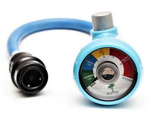 R410a Klimaanlage Kältemittel Druck Manometer für KFZ Auto