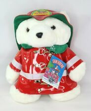 Dayton Hudson Firefighter SantaBear 1996 Dayto Fire Safety Tips Marshall Fields