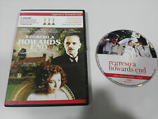 REGRESO A HOWARDS END DVD ANTHONY HOPKINS EMMA TOMPSON