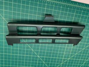 W124 OEM Mercedes Benz FRONT bumper tow cap plug eye trim cover  grill green