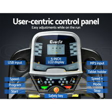 Everfit 9350062161272 Electric Treadmill - Black