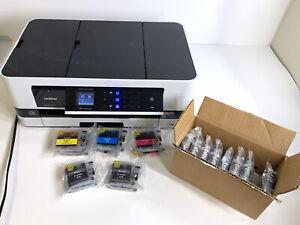 Brother Business Smart Series MFC-J4410DW Wireless Color Inkjet Printer W/ Ink