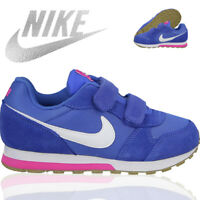 NIKE MD RUNNER BOYS GIRLS KIDS TOUCH STRAP SPORTS SHOES CASUAL TRAINERS SIZE