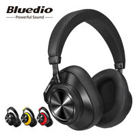 Bluetooth Headphones Bluedio T6 ANC Wireless Headphones Stereo Headsets Mic