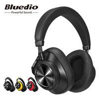 Bluetooth Headphones Bluedio T6 ANC Wireless Headphones Stereo Headsets Mic
