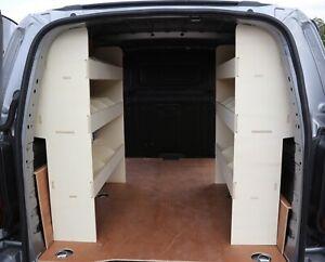 Vauxhall Combo LWB 2019+ DOUBLE UNITS Van Racking Tool Storage Shelving System