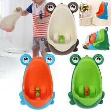Frog Baby Toddler Boy Potty Training Kid Toilet Urinal Pee Trainer Bathroom Boys
