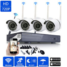 WIFI Wireless 1080P NVR Outdoor Night Vision Security 720P IP Camera CCTV System